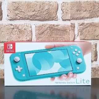 ニンテンドースイッチ(Nintendo Switch)の★新品未開封★ ニンテンドーSwitch LITE ターコイズ(家庭用ゲーム機本体)