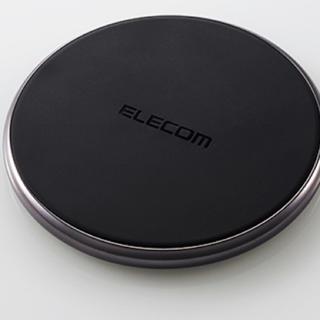 ELECOM - 【新品】ワイヤレス充電 ブラック