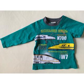 kladskap - 新幹線 長袖Tシャツ / 90サイズ