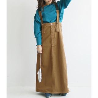IENA SLOBE - universal overall/slobe citronサロペットスカート