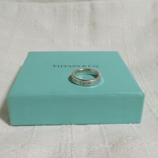 ティファニー(Tiffany & Co.)のTIFFANY  &  Co.  1837 ナローリング  925 #9(リング(指輪))