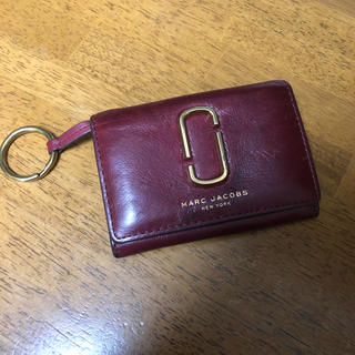 MARC BY MARC JACOBS - MARC JACOBS マークジェイコブス 二つ折り財布 ワインレッド