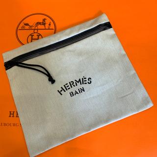 Hermes - エルメス フラットポーチ ビーチシリーズ ヨッティングポーチ ノワール 防水