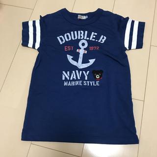 DOUBLE.B - 未使用 ミキハウス ダブルビー 半袖Tシャツ