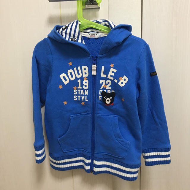 DOUBLE.B(ダブルビー)のミキハウス ダブルビー パーカー キッズ/ベビー/マタニティのキッズ服男の子用(90cm~)(ジャケット/上着)の商品写真