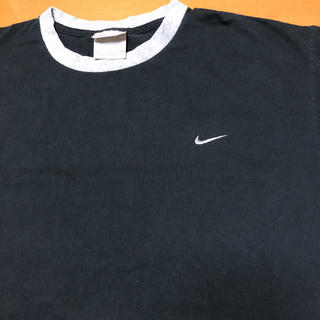 NIKE - メキシコ製 NIKE ナイキ Tシャツ ワンポイントロゴ ビッグシルエット L