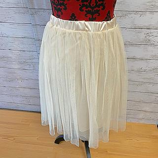 ニッセン - チュールのスカート