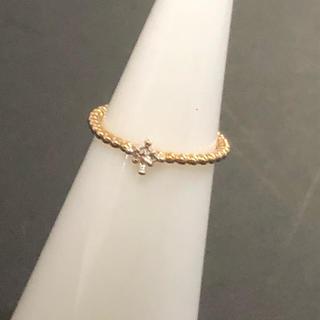 ノジェス(NOJESS)のノジェス ダイヤモンド ピンキーリング K10   #1 値下げ(リング(指輪))