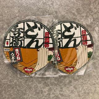 日清食品 - どん兵衛オリジナルラバーコースター2こ