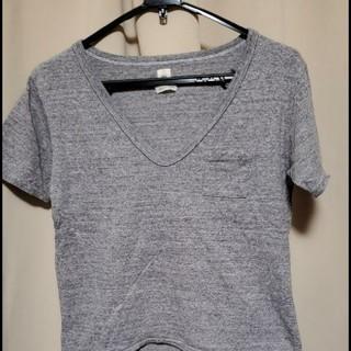 シー(SEA)のSEAの裾が面白いカットソー(Tシャツ(半袖/袖なし))