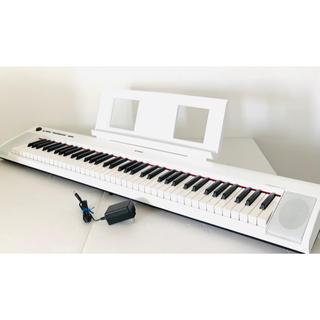 ヤマハ(ヤマハ)のヤマハ YAMAHA 電子キーボード piaggero ホワイト NP-32WH(電子ピアノ)