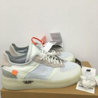 OFF-WHITE - 28cm THE 10 OFF WHITE × NIKE AIR FORCE 1
