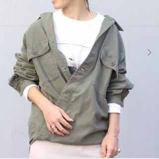 Plage - 新品未使用 plage 製品加工Bigアーミーシャツ カーキ