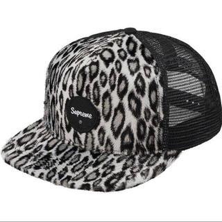 Supreme - Supreme leopard mesh cap