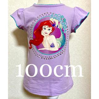 Disney - アリエルTシャツ 100cm