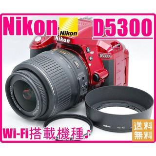 ニコン(Nikon)のNikon ニコン D5300 Wi-Fi搭載でスマホと繋がる♪♪(デジタル一眼)