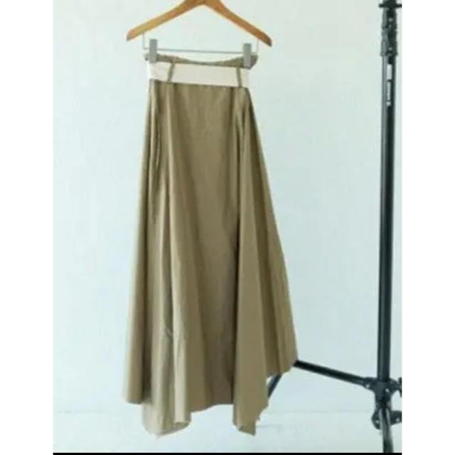 TODAYFUL(トゥデイフル)の【美品】todayful トゥデイフル ベルト付きスカート レディースのスカート(ロングスカート)の商品写真