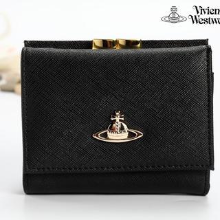 Vivienne Westwood - 新品ヴィヴィアンウエストウッド短財布/ヴィヴィアンウエストウッドガマ口 短財布