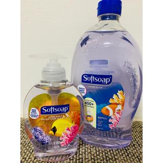 Softsoap アクアリウム 221ml+946ml