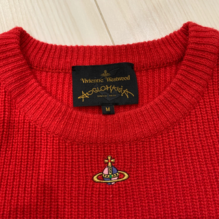 Vivienne Westwood - ヴィヴィアン アングロマニア ニット 赤