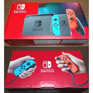 Nintendo Switch - 新型 Nintendo Switch スイッチ 美品中古 ネオン