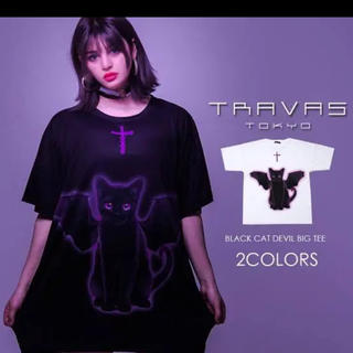 フーガ(FUGA)のTRAVS_TOKYO デビルキャット(∩ˊ꒳ˋ∩)・*(Tシャツ/カットソー(半袖/袖なし))