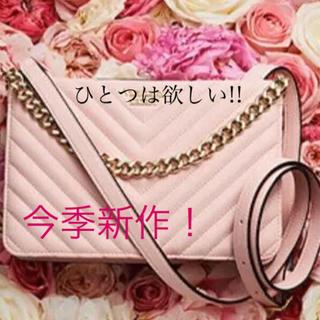 ヴィクトリアズシークレット(Victoria's Secret)のヴィクトリアシークレット今季新作ショルダーバッグピンク(ショルダーバッグ)