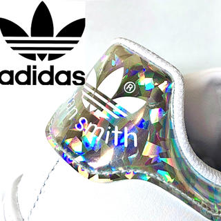 adidas - アディダス スタンスミス STAN SMITH ホワイト 白 シルバー 虹色 銀