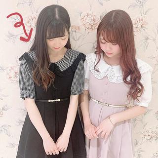 evelyn - 今期最新作♡新品未使用♡ セーラー襟♡ビッグ襟タックワンピース