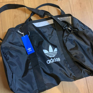 adidas - アディダス オリジナルス  ダッフルバッグ ブラック スポーツバッグ
