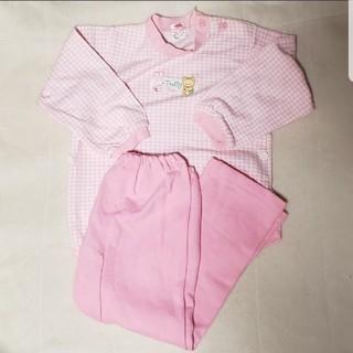 グンゼ(GUNZE)の長袖パジャマ 95 綿80% グンゼ 女の子 日本製 年中素材(パジャマ)