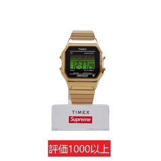シュプリーム(Supreme)のSupreme Timex Digital Watch 金(腕時計(デジタル))
