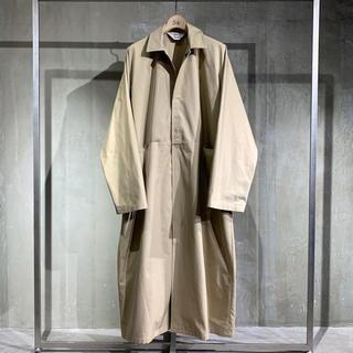 SUNSEA - sunsea20ss overcoat サイズ2 ベージュ