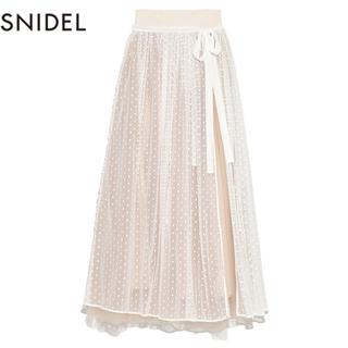 snidel - 2wayボリュームチュールレーススカート