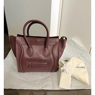 セフィーヌ(CEFINE)のCELINE セリーヌ Mini Luggage Bordeaux(トートバッグ)