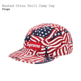 Supreme - Washed Chino Twill Camp Cap