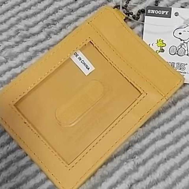 SNOOPY(スヌーピー)のスヌーピー パスケース レディースのファッション小物(名刺入れ/定期入れ)の商品写真