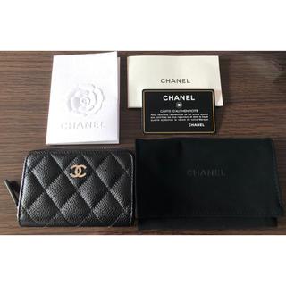 CHANEL - シャネル CHANEL カードケース コインケース キャビアスキン