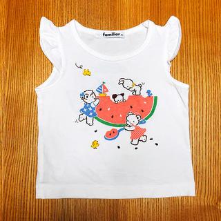 familiar - ファミリア  タンクトップ Tシャツ 80
