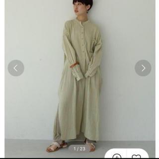 TODAYFUL - todayful ストライプシャツドレス 38  最終値下げ