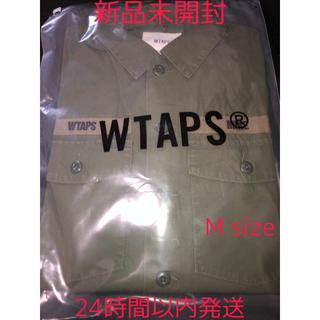 W)taps - WTAPS BUDS LS SHIRT 20ss Mサイズ