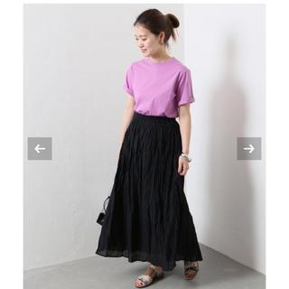 JOURNAL STANDARD - 美品ジャーナルスタンダード コットンボイルギャザースカート