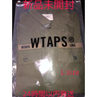 W)taps - WTAPS BUDS LS SHIRT 20ss Lサイズ