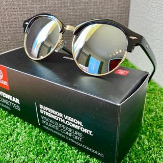 ブロータイプ 新品 偏光サングラス ミラーレンズ UV400 ボストン型