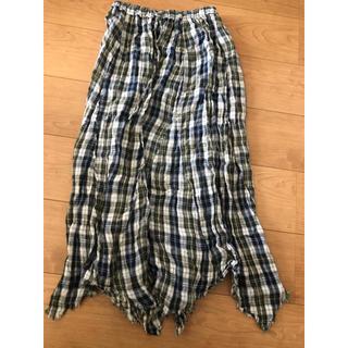 Ungrid - ungrid チェックロングスカート