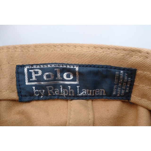 POLO RALPH LAUREN(ポロラルフローレン)の【新品未使用】ポロラルフローレン ポロベアー キャップ 送料無料 ベージュ レディースの帽子(キャップ)の商品写真