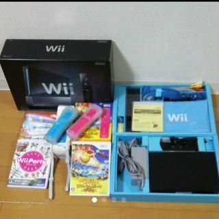 Wii - 任天堂 Nintendo wii  本体   ソフト セット♪