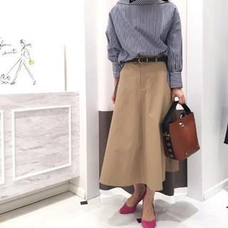 スーツカンパニー(THE SUIT COMPANY)の【美品】スーツカンパニー スカート(ロングスカート)