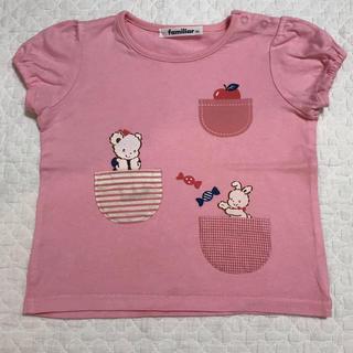 familiar - 美品 ファミリア  Tシャツ
