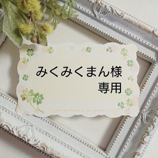 No.1239 レジンヘアゴム❁マイクロローズ・ミントグリーン(ヘアゴム/シュシュ)